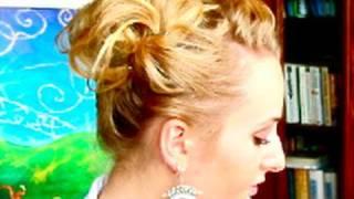 ☆ DIRTY HAIR UPDO 3/ FRYZURA AWARYJNA 3 alert falowane kręcone upięcie stylizacje chic ☆