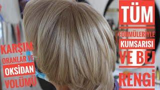 evde bebek kumralı nasıl yapılır /kuaförden evde saç boyama formülleri