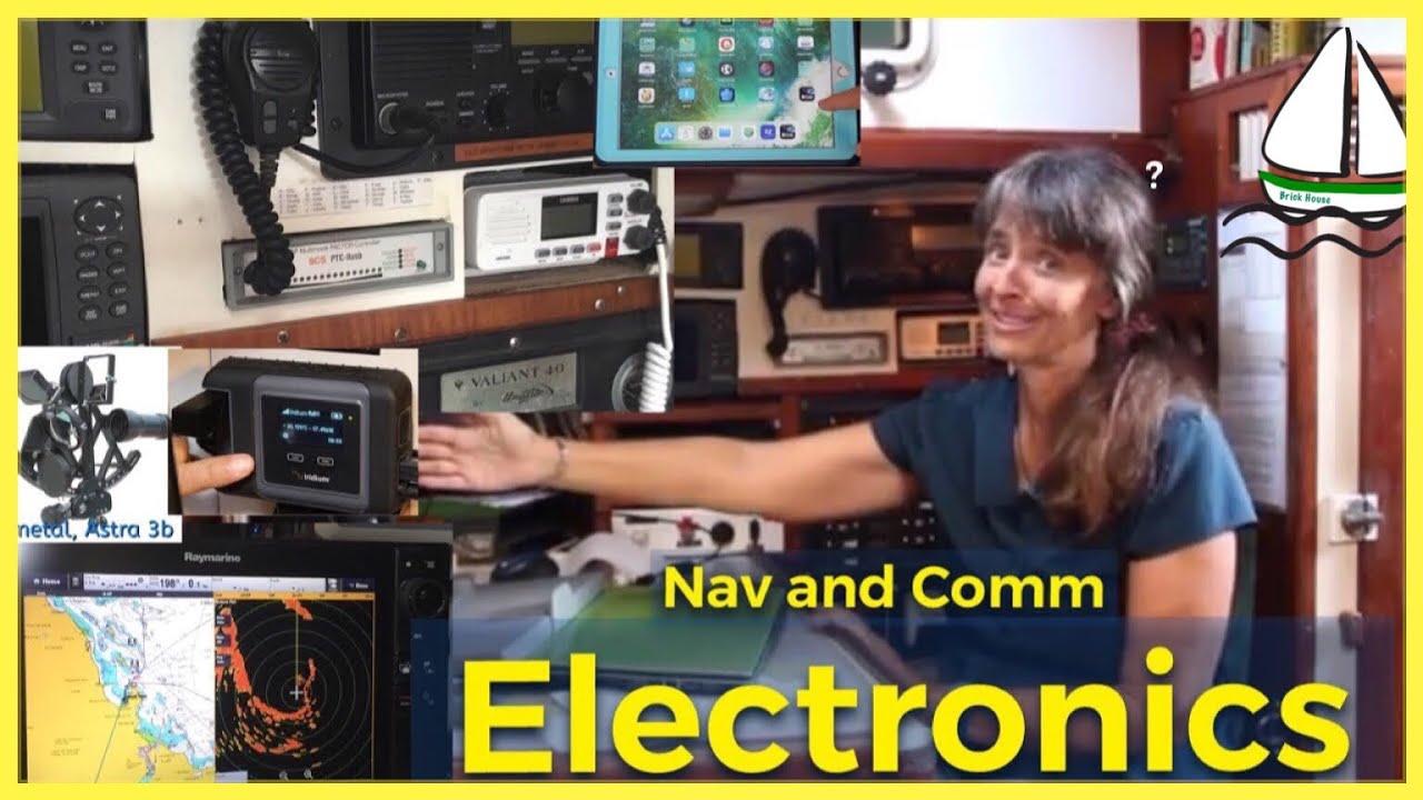 MARINE ELECTRONICS: Communications at Sea, Navigation, and Sailing Apps  (Iridium Go? Sextant?) #35