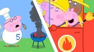 小猪佩奇 | 精选合集 | 1小时 | 消防车 🚒 | 粉红猪小妹|Peppa Pig Chinese |动画