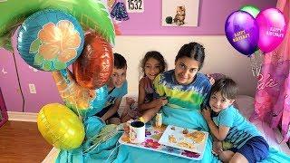 Happy Birthday Morning Routine - Hadil turn 14 years old