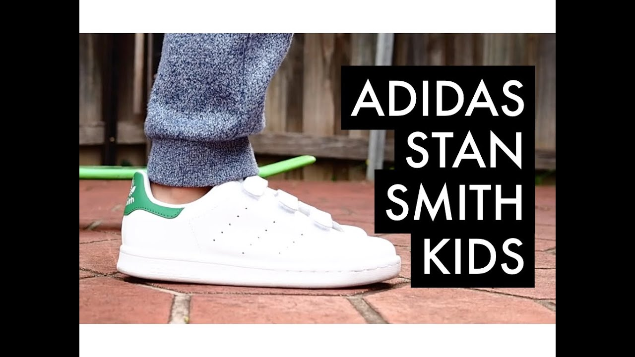ADIDAS Stan Smith CF C Kids | On-Feet