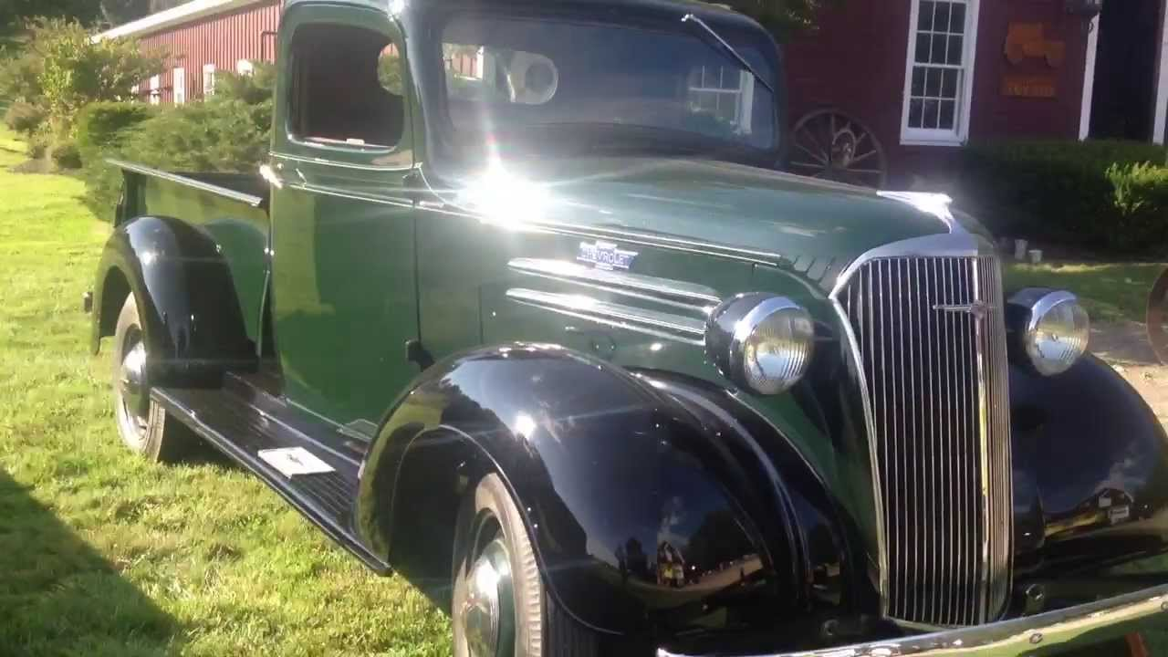 1937 Chevrolet Chevy Pickup Antique Truck  YouTube