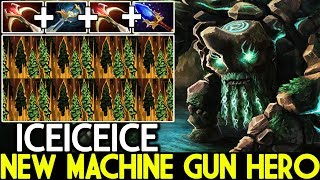 ICEICEICE [Tiny] Becomes New Machine Gun Hero Unreal Damage 7.22 Dota 2