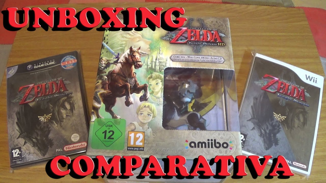 The Legend Of Zelda Twilight Princess Hd Wiiu Edicion Especial Y Comparativa