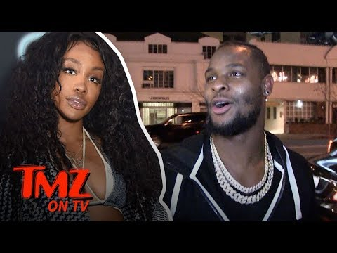 NFL Star Wants A Valentines Date With SZA | TMZ TV