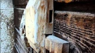 Деревянные замки. The Antique Wooden Door locks of Italy