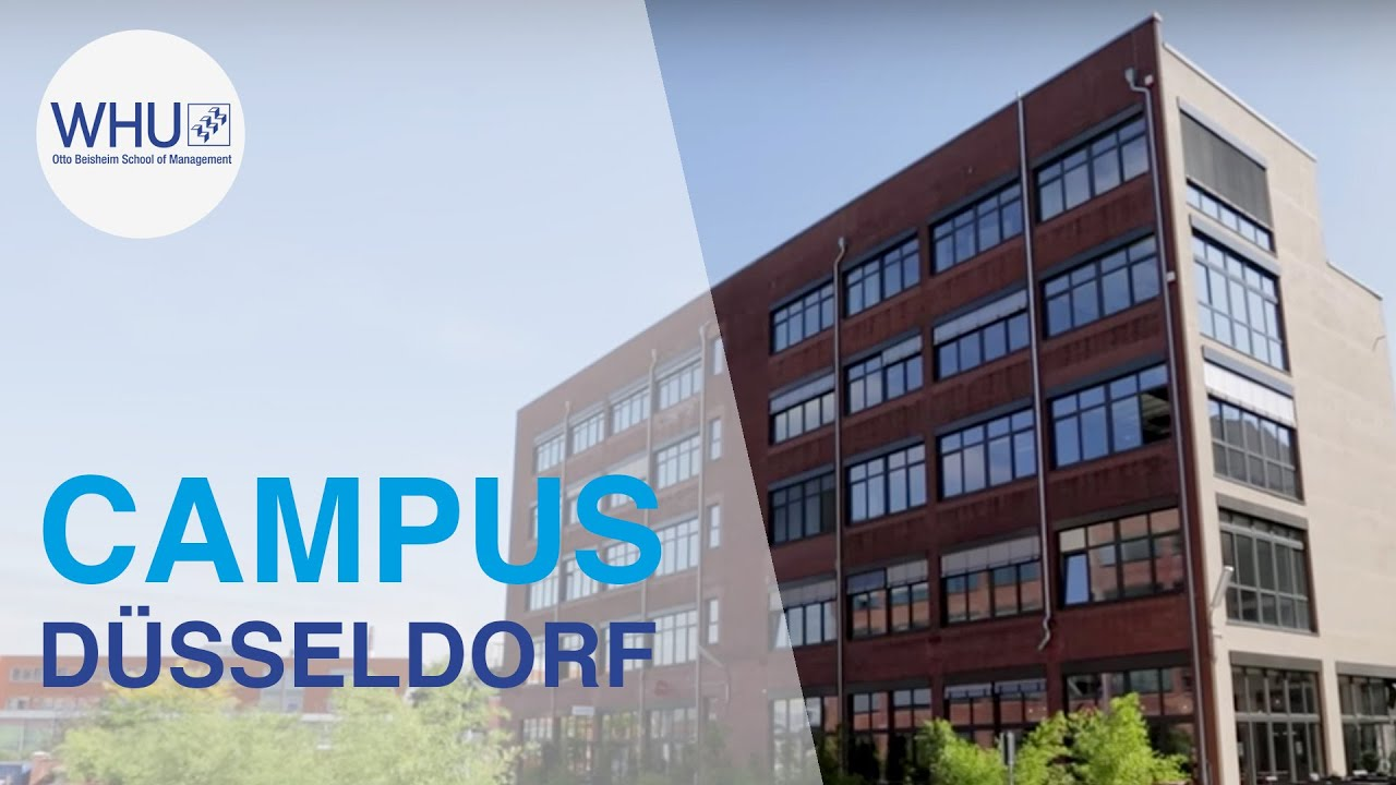 Whu Campus Dusseldorf Top Ranking Study Programs In An International Business Hotspot Whu