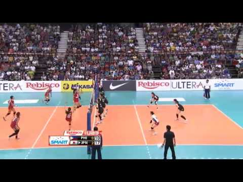 U23: Japan vs. Philippines Set 3