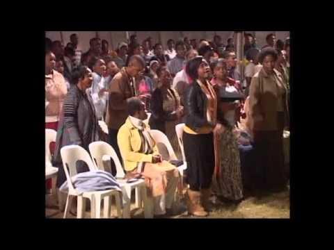 God's Army team - Chorusing & dancing