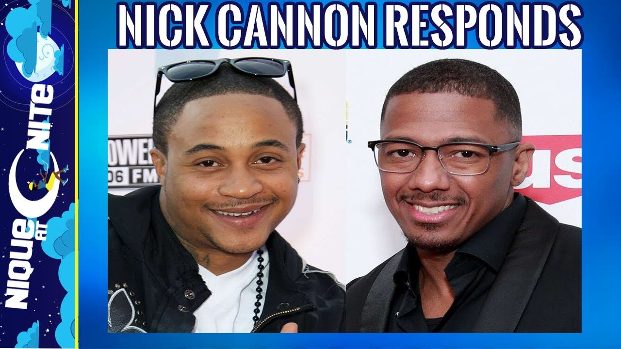 Nick cannon responds to Orlando Brown Claims about him