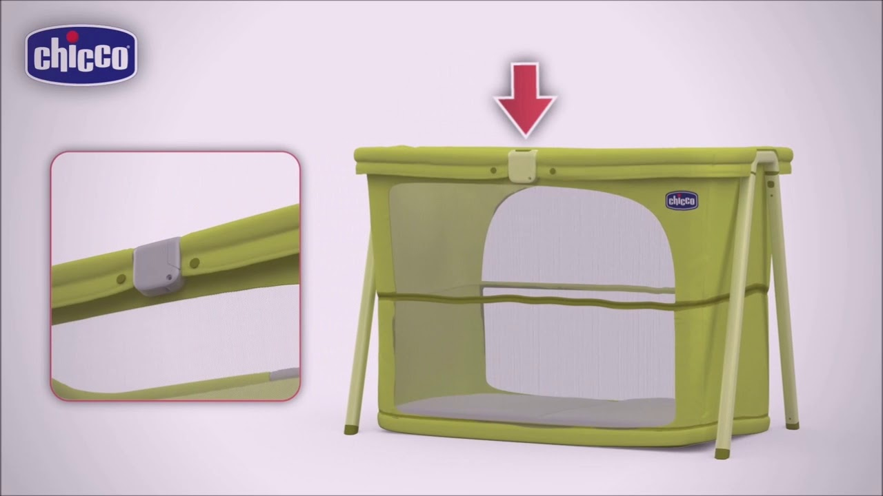 Zip and Go Travel Crib by Chicco