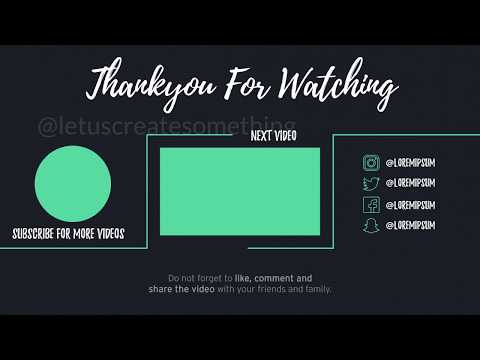 latest-top-10-youtube-outros/endscreen-templates-download-#letuscreatesomething