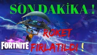 NEW last minute!  MISSILE!  Fortnite Battle Royale (Turkish battle Royale)