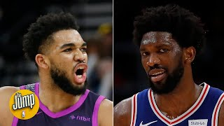 Karl-Anthony Towns' comments on Joel Embiid show real professionalism - Richard Jefferson | The Jump