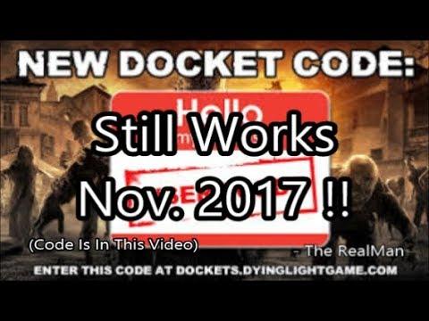 New Dying Light Docket Codes | Padasmata co