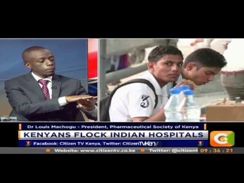 Citizen Extra: Kenyans flock Indian Hospital