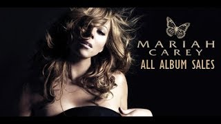Marah Carey: All Albums Sales (World Chart History) 1990-2015
