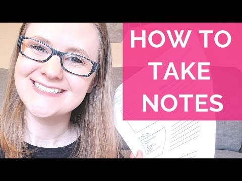 HOW I TAKE NOTES IN NURSING SCHOOL (STEP-BY-STEP)