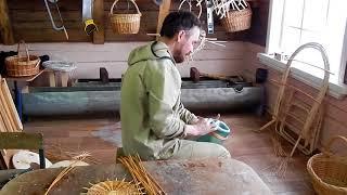 Видеоурок: Изготовление корзины из лозы