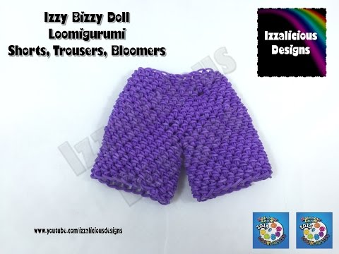 Loomigurumi Izzy Bizzy Doll - Shorts or Trousers - hook only