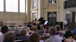 Emily Nebel & Alexey Pudinov - Ravel Violin Sonata No. 2, III. Perpetuum mobile. Allegro