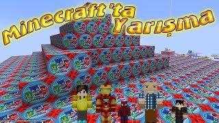 Minecraft'ta Tehlikeli Şans Blokları Yarışması Kamil Dayı Şerefine