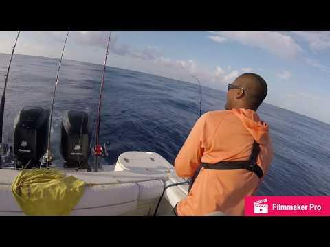 Fishing  For Black Fin Tuna 12 Mile Bank, Grand Cayman