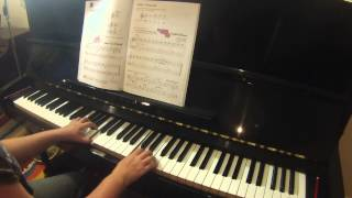 English Minuet  |  Accelerated Piano Adventures for the Older Beginner lesson book 1