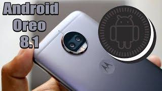 Android OREO 8.1.0 Moto G5S Plus CHEGOU!!!