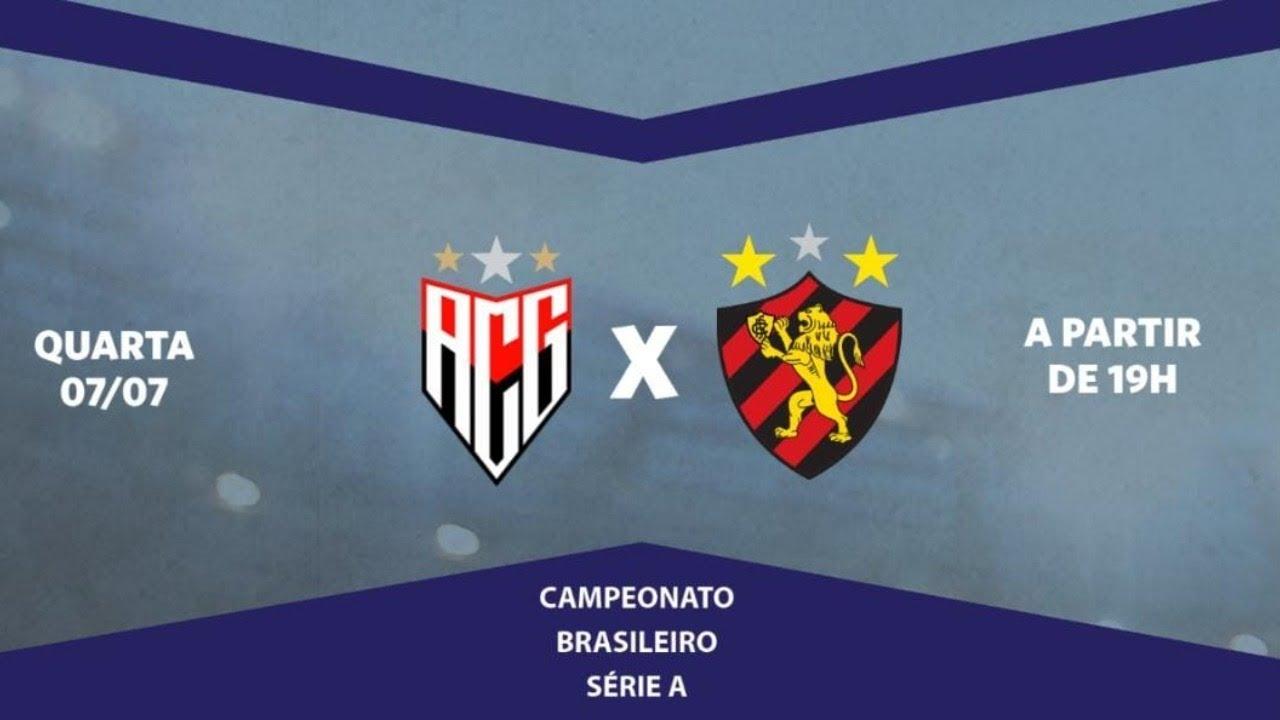 Atlético-GO x Sport ao vivo, pela Série A do Brasileiro, com o Escrete de Ouro da Rádio Jornal