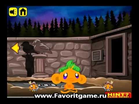 Прохождение игры Счастливая обезьянка Сказки 2