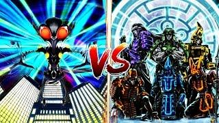 YuGiOh December Madness! ..Dino Aliens vs The Six Samurai.. It