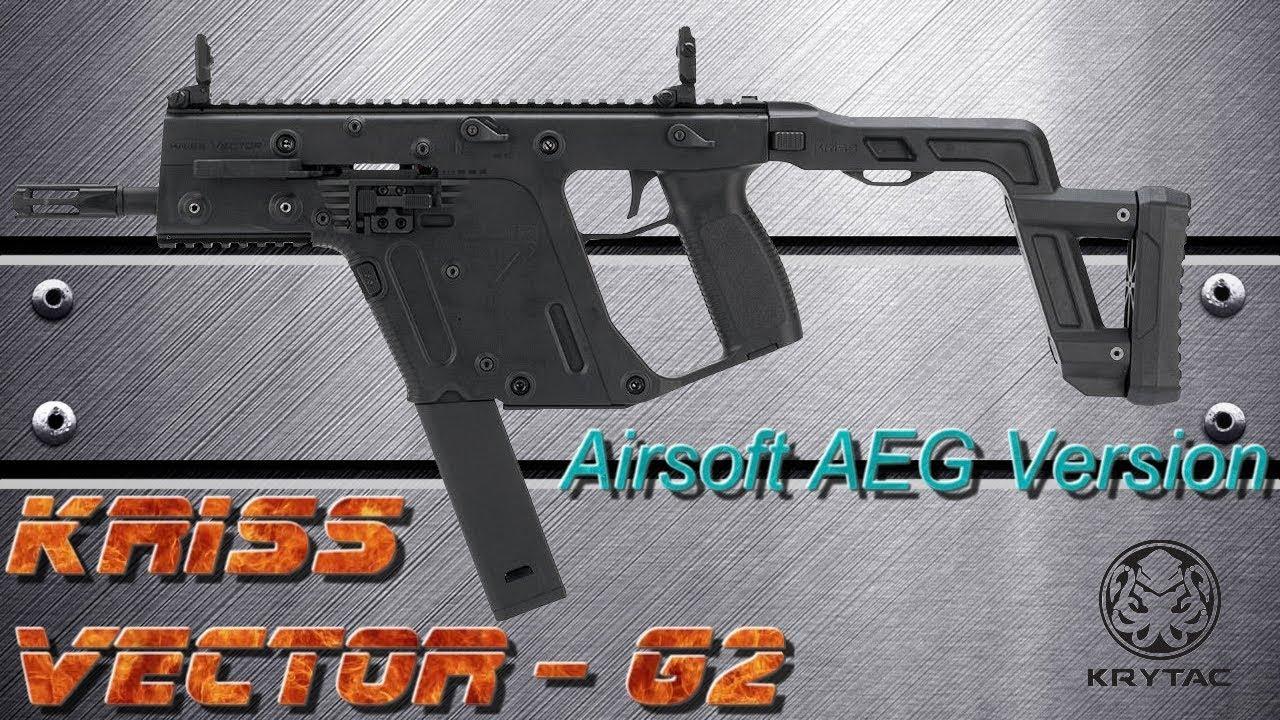 [AIRSOFT] Review N°104 - KRISS VECTOR Gen 2 Version AEG (KRYTAC)