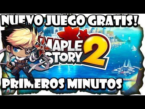 Nuevo Juego gratis: Primeros Minutos MapleStory 2 Gameplay español | MMOrpg Anime
