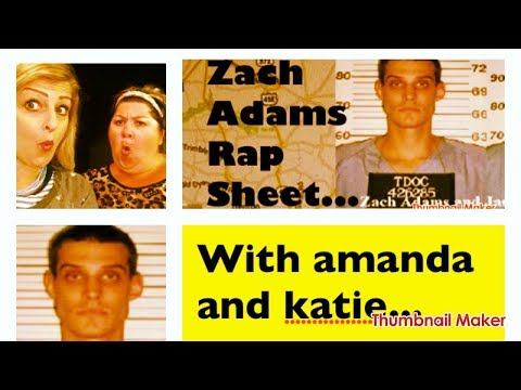 ZACH ADAMS TRIAL- RAP Sheet criminal history... Holly Bobo Case sept. 2017