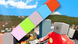 TALLEST LEGO TOWER SURVIVAL! - Brick Rigs Multiplayer Gameplay - Lego Tower Survival