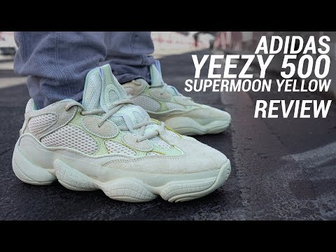 ADIDAS YEEZY 500 SUPERMOON YELLOW REVIEW