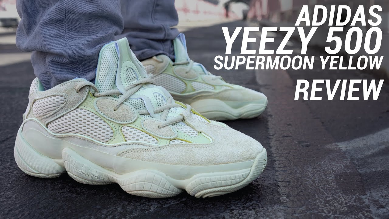 best sneakers 234be eafed ADIDAS YEEZY 500 SUPERMOON YELLOW REVIEW