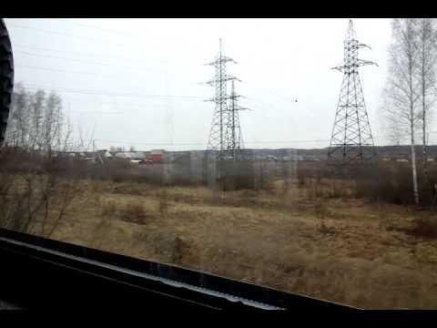 Отъезд из Серпухова на ЭД4МК-0020 | Departure From Serpukhov On ED4MK-0020