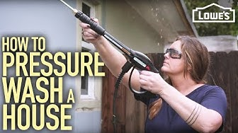 How to Pressure Wash A House (w/ Monica from The Weekender)