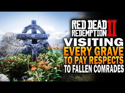 Paying Respects To Our Fallen Comrades - Red Dead Redemption 2 Grave Sites
