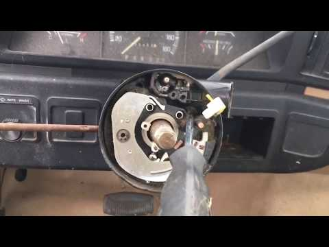 1980-91 F Series ignition switch removal