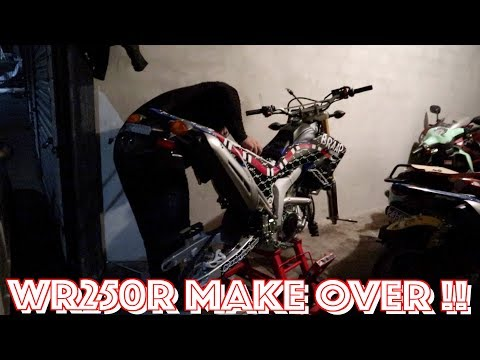NEW GRAPHIC KIT FOR THE WR250R