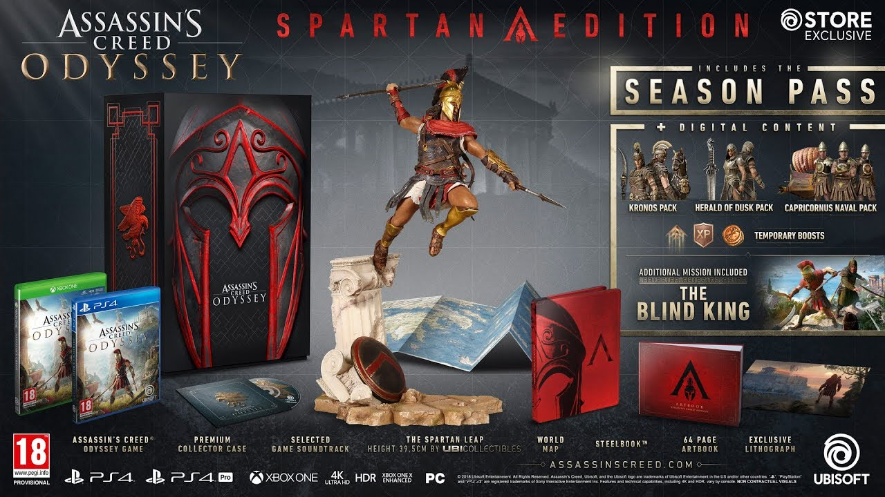 Upcoming Assassin S Creed Odyssey Medusa Edition Youtube