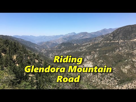 Riding Glendora Mountain, California
