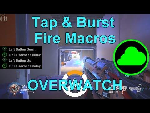 Overwatch | Soldier 76 - Tap & Burst Fire Macro Tutorial
