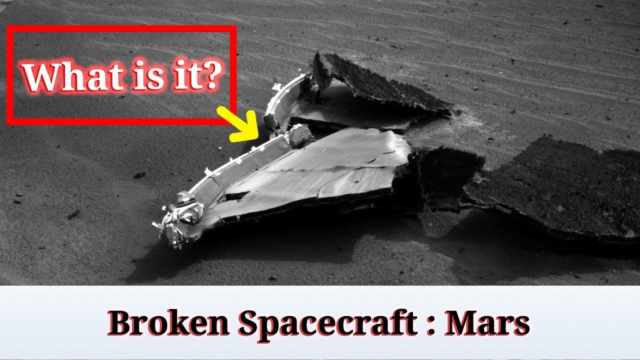 Download Broken spacecraft on Mars: Close-up   Marte Rovers