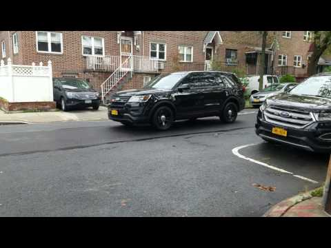 NYPD Bronx Borough Commander Arriving On Scene Of A Major Emergency In The Bronx