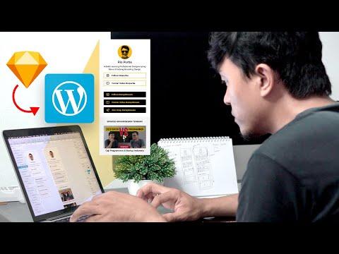 Cara Membuat Web Design menjadi Web Online.
